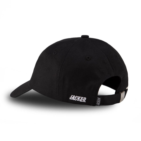 SMART LOGO CAP - BLACK