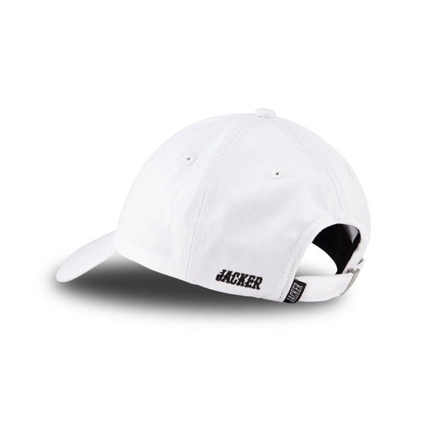 SMART LOGO CAP - WHITE