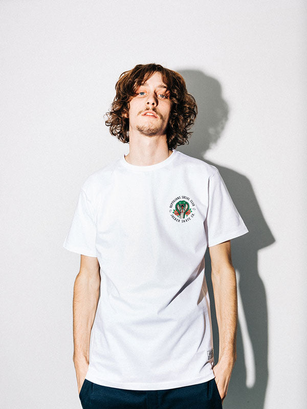SOCIAL CLUB - T-SHIRT - WHITE