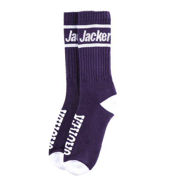 AFTER LOGO - CHAUSSETTES - PURPLE