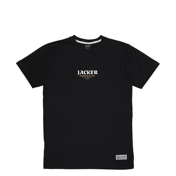 SUMMER CLUB - T-SHIRT - BLACK