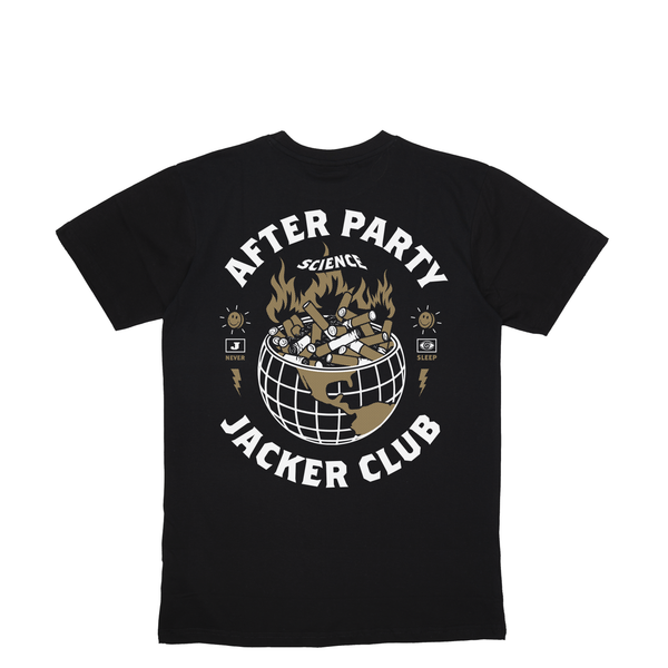 ASHTRAY WORLD - T-SHIRT - BLACK