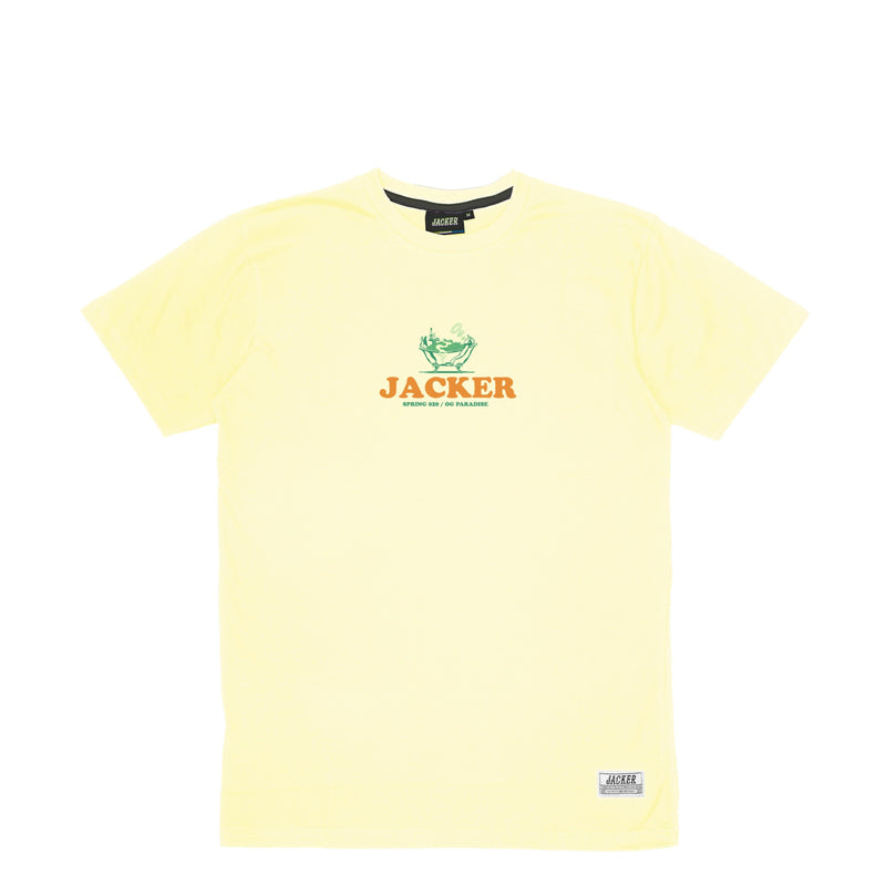 BUSINESS CLUB - T-SHIRT - PALE YELLOW