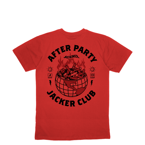 ASHTRAY WORLD - T-SHIRT - RED