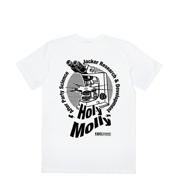 HOLY MOLLY - T-SHIRT - WHITE