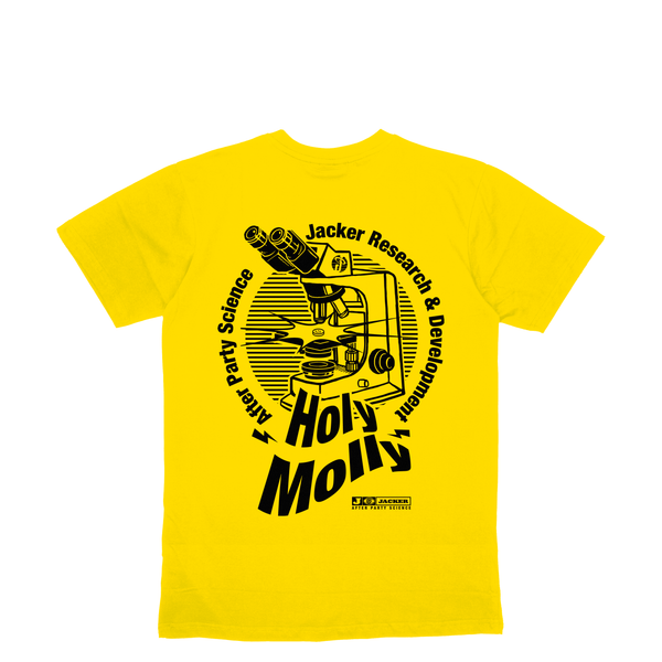HOLY MOLLY - T-SHIRT - YELLOW