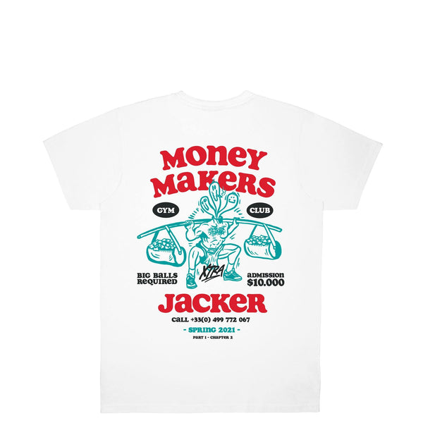 MONEY MAKERS - T-SHIRT - WHITE