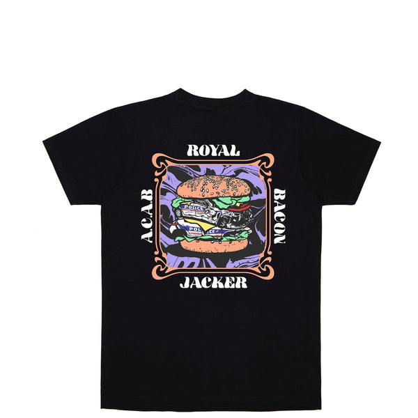 ROYAL BACON - T-SHIRT - BLACK