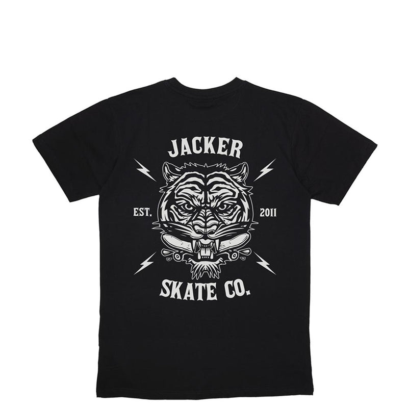 TIGER CO. - T-SHIRT - BLACK