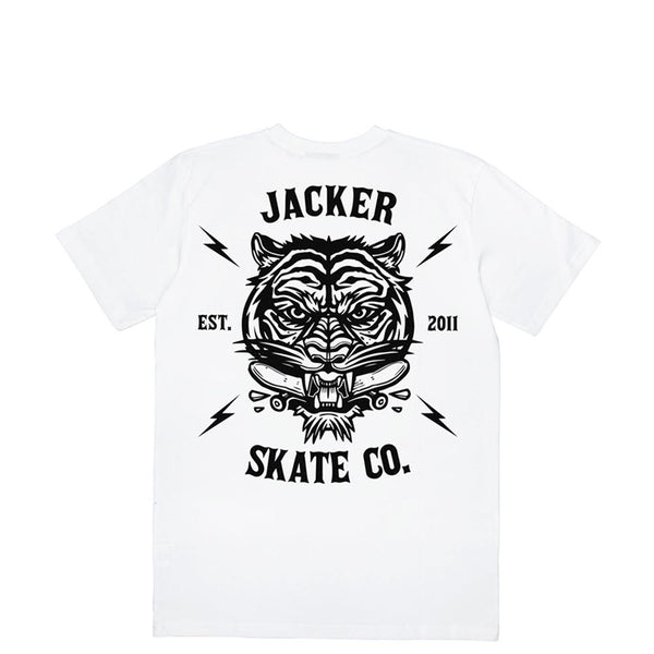 TIGER CO. - T-SHIRT - WHITE