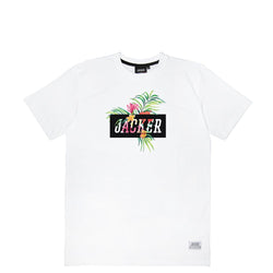 TROPICAL LOGO - T-SHIRT - WHITE