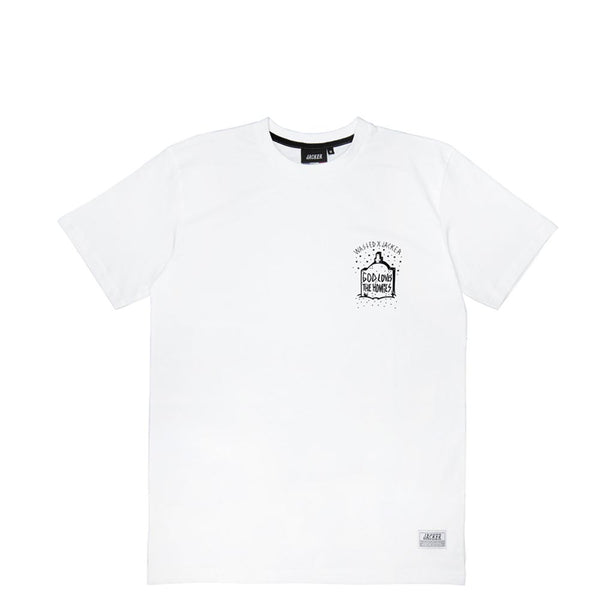 JACKER X WASTED - RIP - T-SHIRT - WHITE