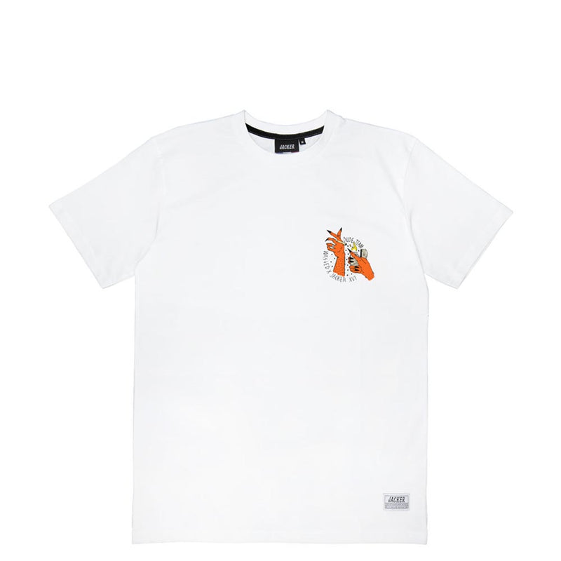 JACKER X WASTED - SMOKE TEAM - T-SHIRT - WHITE