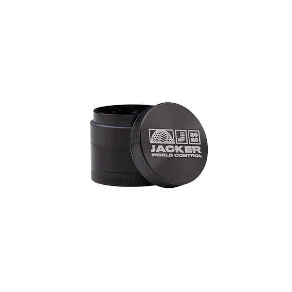 WCT LOGO - GRINDER 40MM - BLACK
