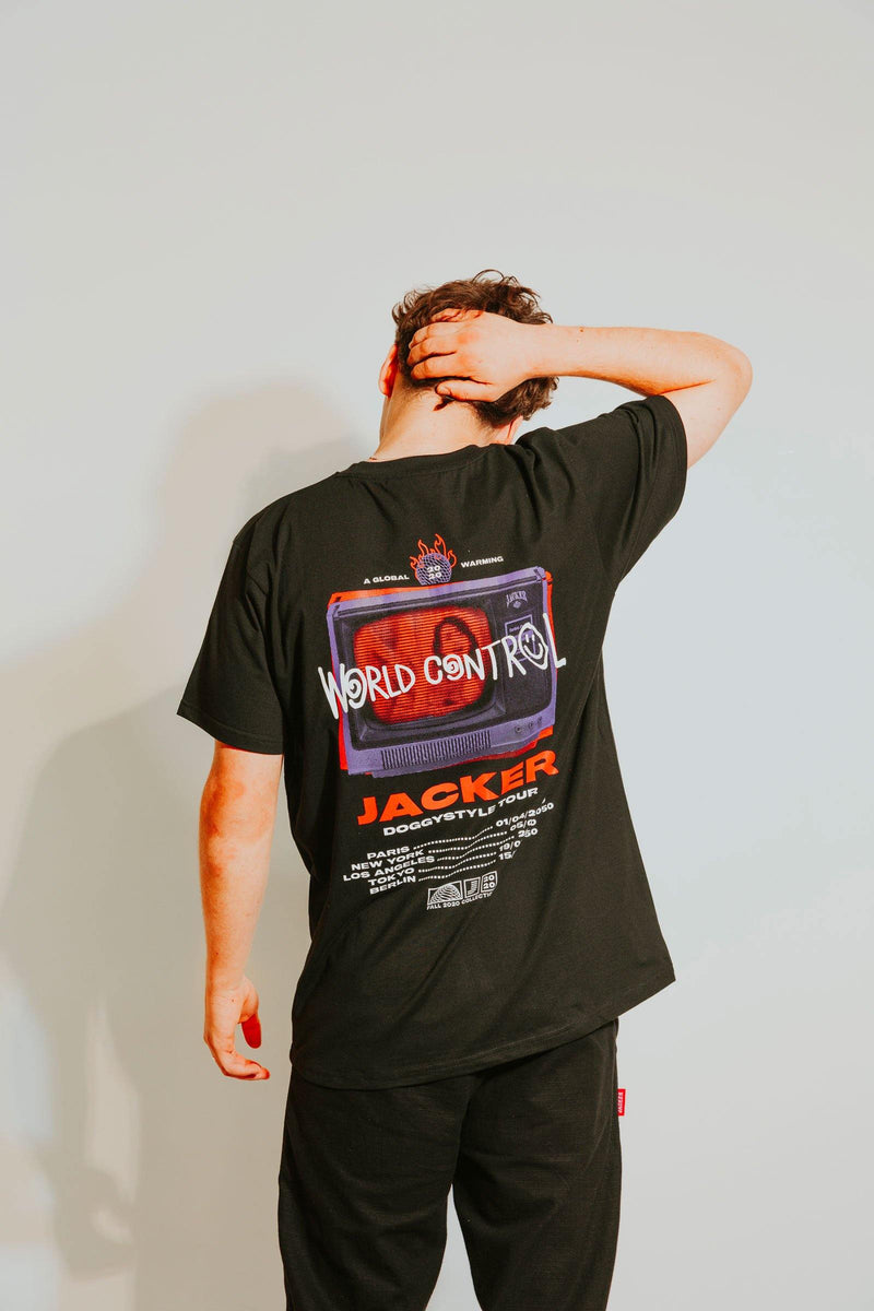 WORLD TOUR - T-SHIRT - BLACK
