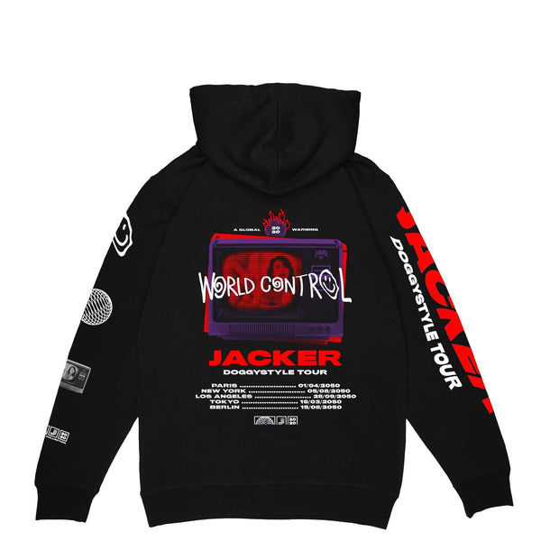 WORLD TOUR - HOODIE - BLACK