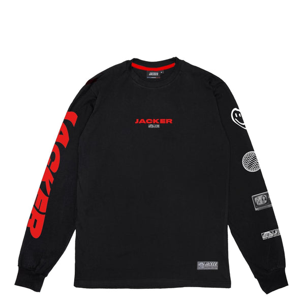 WORLD TOUR - LONG SLEEVES - BLACK