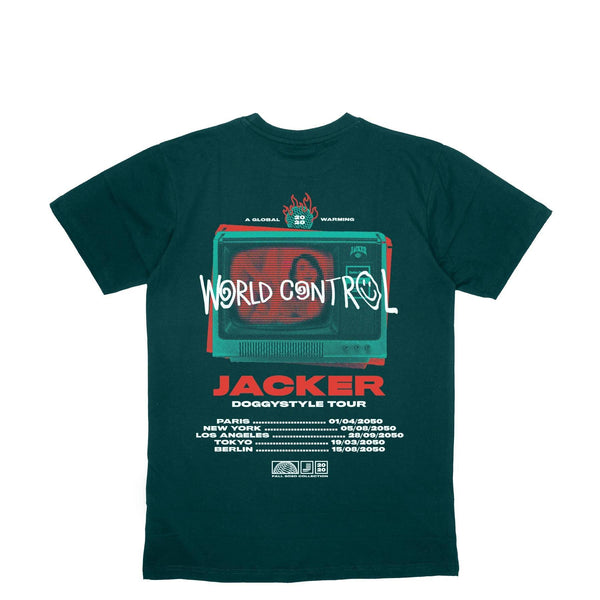 WORLD TOUR - T-SHIRT - DARK GREEN