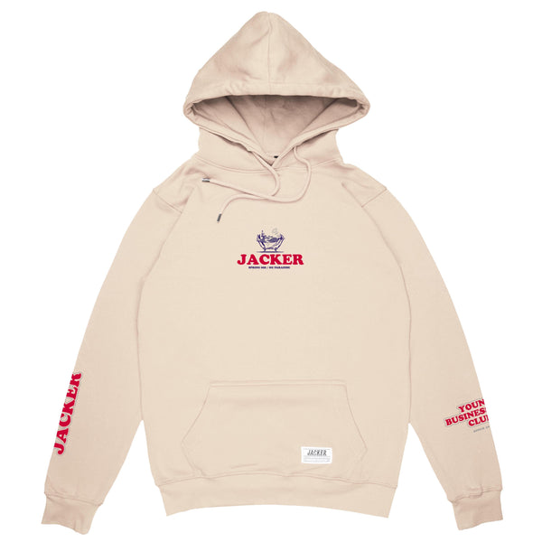 BUSINESS CLUB - HOODIE - BEIGE
