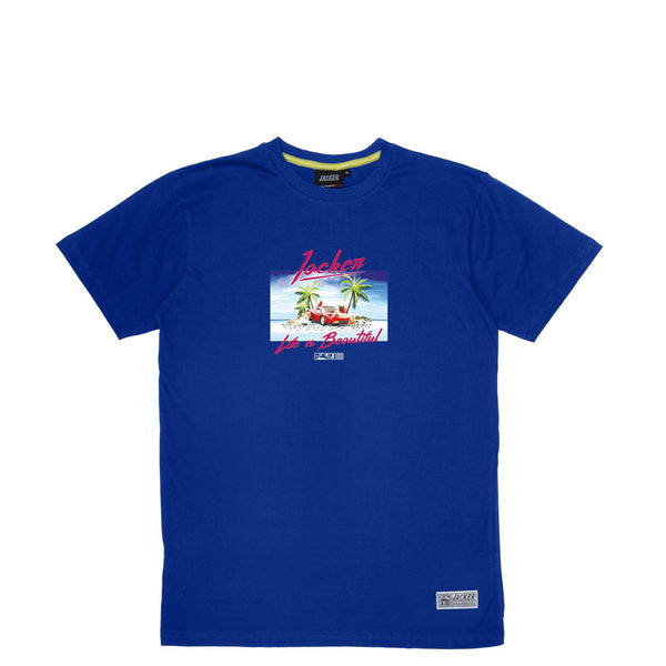 ISLAND - T-SHIRT - ROYAL BLUE