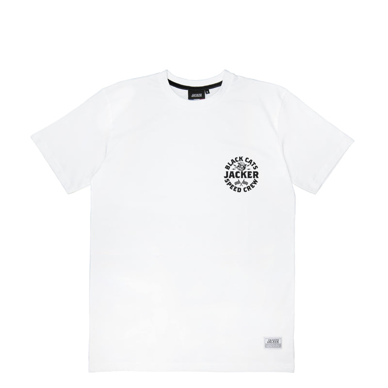 SPEED CATS - T-SHIRT - WHITE