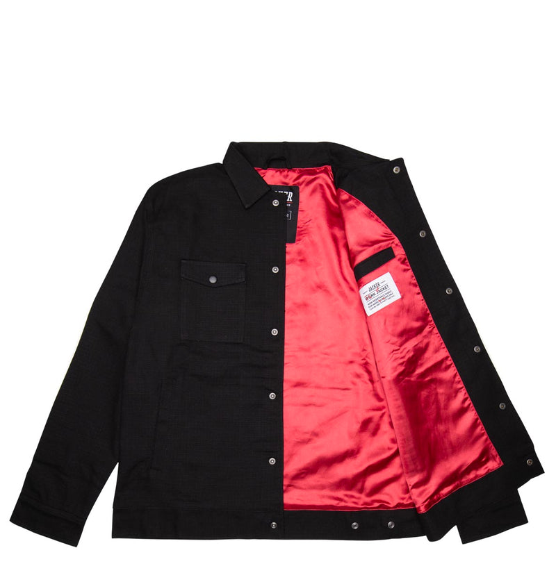 SAVAGE CAT WORK JACKET - VESTE - BLACK