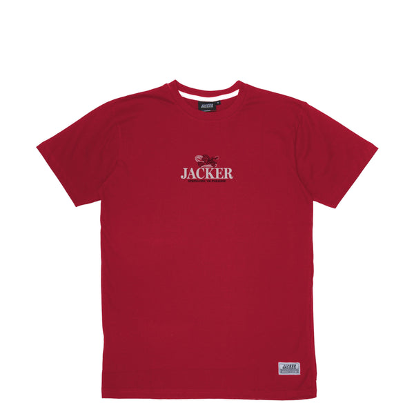 HEAVEN'S SOLDIERS - T-SHIRT - DARK RED