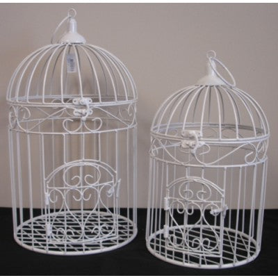 METAL BIRD CAGES ROUND