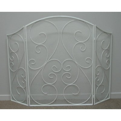 METAL FIRE SCREEN CREAM