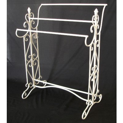 TOWEL RACK - ANTIQUE WHITE