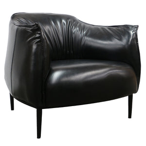 RELAX TUB CHAIR - BLACK - Luxe Living
