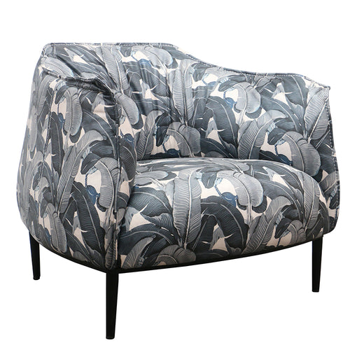 RELAX TUB CHAIR - GREY BANANA LEAF - Luxe Living
