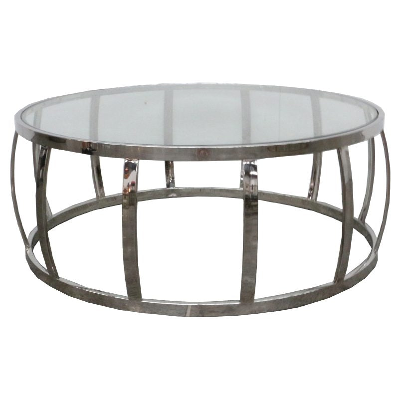 DRUM COFFEE TABLE - Luxe Living