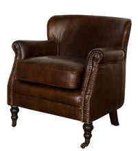 Load image into Gallery viewer, MORTIMER CHAIR VINTAGE CIGAR