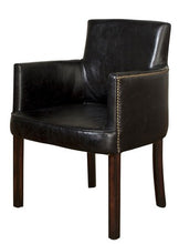 Load image into Gallery viewer, ITHACA CARVER CHAIR BELON BLACK