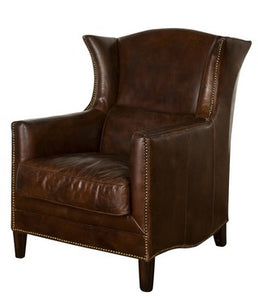 WING ARMCHAIR VINTAGE CIGAR