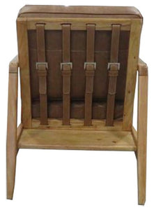 FINN CHAIR - COLUMBIA BROWN / OAK FRAME