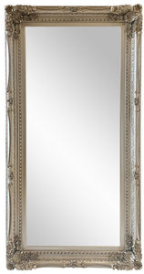 Ornate Mirror- Silver