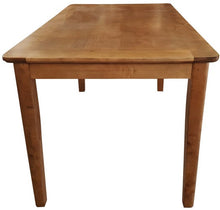 Load image into Gallery viewer, COLUMBIA BIRCH BAR HEIGHT DINING TABLE - ANTIQUE BROWN BIRCH