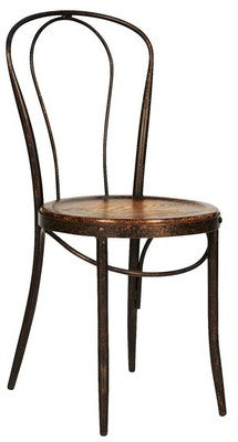 BISTRO CHAIR - METAL/FIR