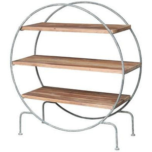 ROUND SHELVING UNIT - Luxe Living