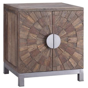 ROXY CONSOLE RECYCLED ELM & IRON - Luxe Living