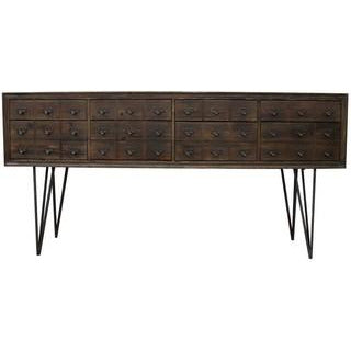 PHARMACY RECLAIMED FIR SIDEBOARD - 8 DRAWERS - Luxe Living