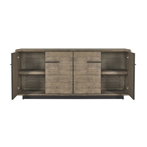 SIDEBOARD - NEW PINE / METAL - Luxe Living