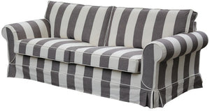 Delray Feather / foam 3 seater sofa