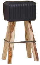 Load image into Gallery viewer, Leather Stool