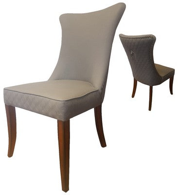 SAVOY DINING CHAIR - GREY