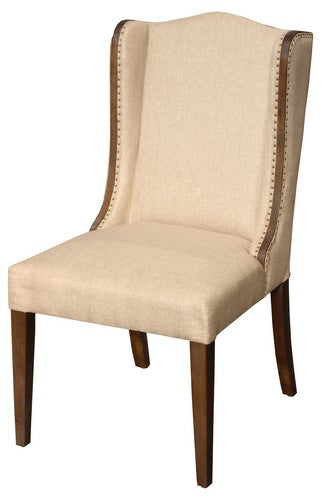 ORLANDO DINING CHAIR W / AMERICAN OAK FRAME