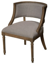 Load image into Gallery viewer, TUCSON OCCASIONAL CHAIR W / AMERICAN OAK FRAME