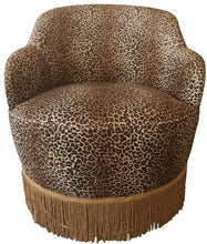 Load image into Gallery viewer, HARLOT SWIVEL CHAIR WITH FRINGE